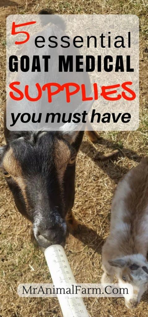 goat medical supplies