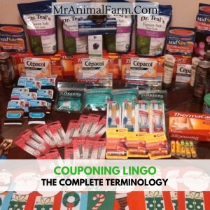 Coupon terminology