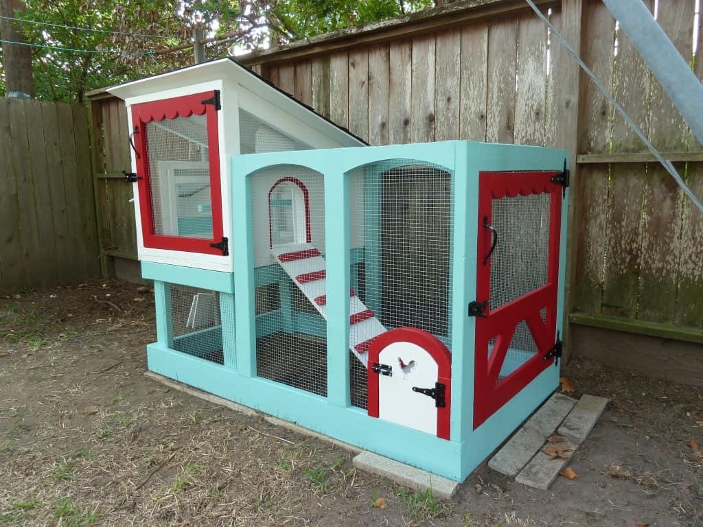 cozy chicken coop