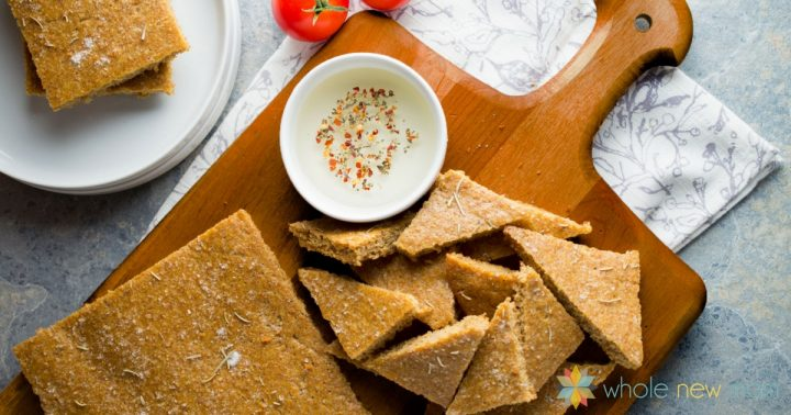 focaccia flax bread recipe that uses a lot of eggs