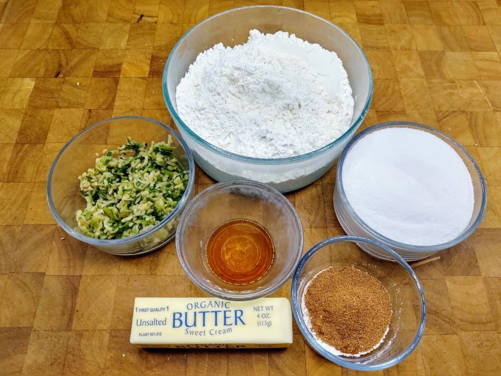 how to make zucchini bread ingredients