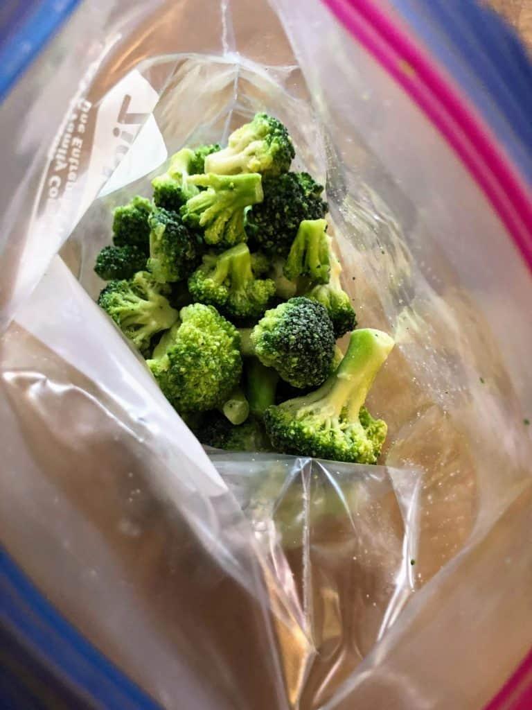 bag of broccoli
