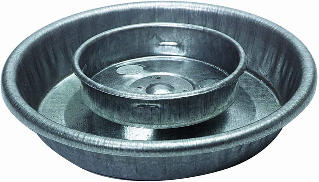 metal waterer base
