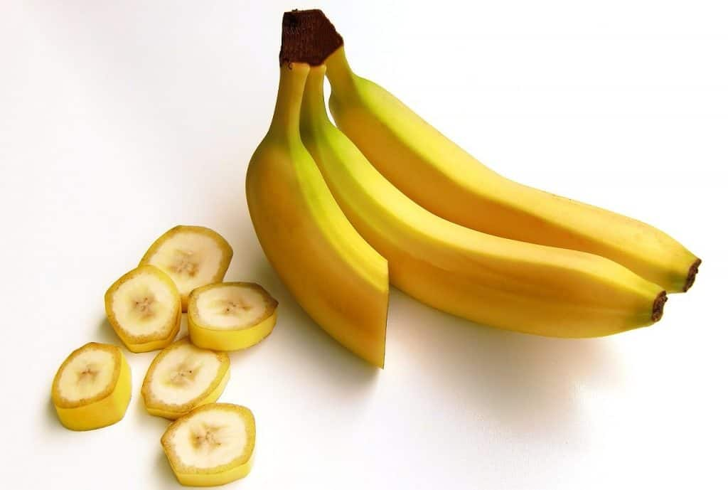 bananas with slices